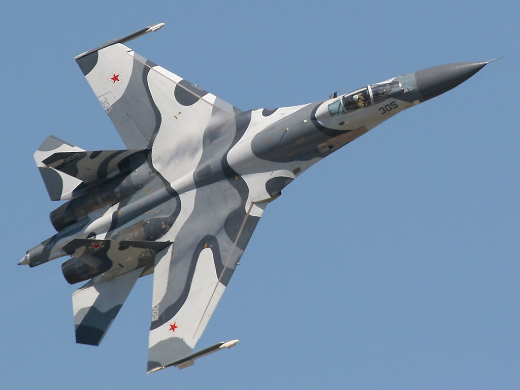 sukhoi russian fighter jet airforce